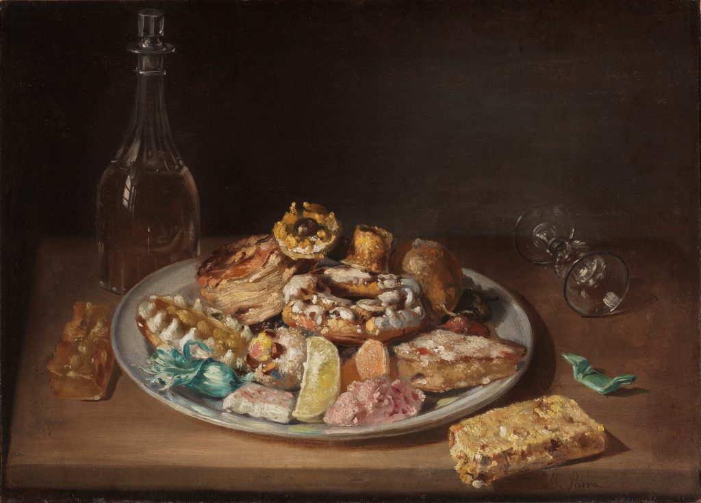 Uno de los bodegones presentes en el Museo del Prado que recoge turrón y otros dulces valencianos navideños./FOTO MUSEO DEL PRADO