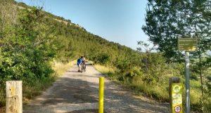 Ruta cicloturista de Ojos Negros./FOTO CONSELLERIA