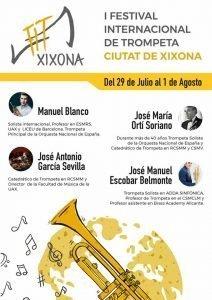 Cartel oficial del diseñador local Sergio Piñero.