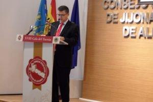 César Soler, presidente del Consejo Regulador de la IGP Jijona y Turrón de Alicante./FOTO MADE IN jIJONA