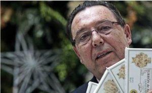 José Enrique Garrigós, presidente del Consejo Regulador del Turrón fallecido en agosto, en una imagen durante su etapa como presidente de la Cámara de Comercio de Alicante./FOTO ALEX DOMINGUEZ
