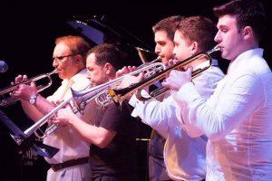 Blanco, Ortí, García Sevilla,Zaragoza y Escobar en un concierto del pasado año./FOTO FIT