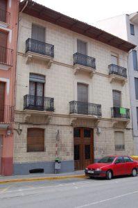 Casa de Ramón Ibáñez en el Vall 15. Donde se fundo la entidad