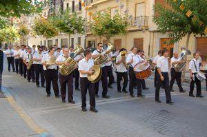 Agrupación Artístico Musical El Trabajo. DIa 15 de agosto de 2007