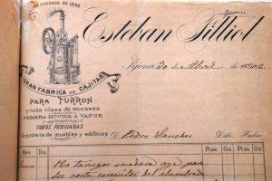 Membrete de carta comercial de 30 de abril de 1902
